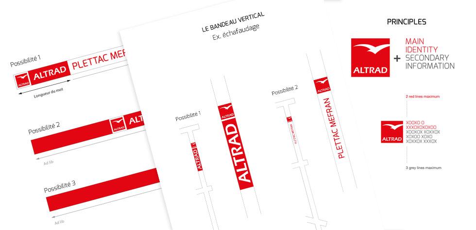 Guideline branding produits Altrad