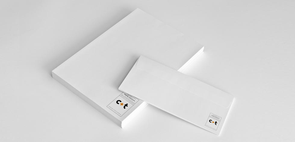 Papeterie, tête de lettres, carte de correspondance
