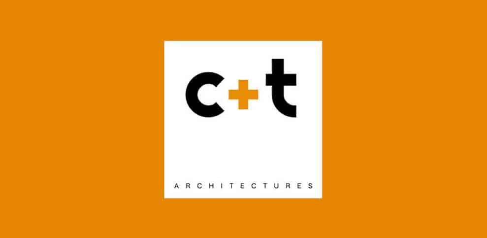 Logo C+T, Carta Triacca Architectures