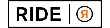 Typographie, accident logo, R symétrie horizontale, Ride